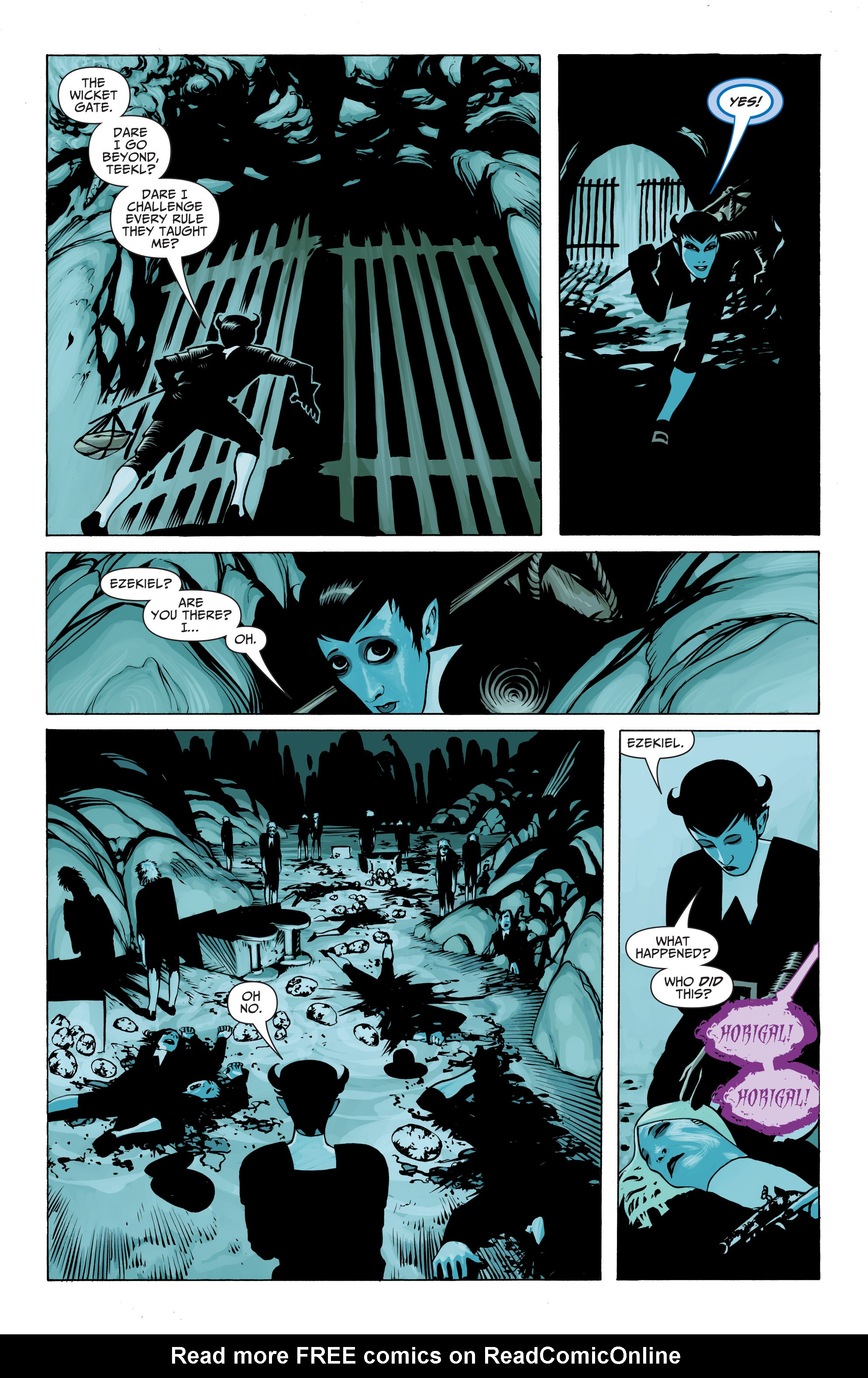 Read online Seven Soldiers: Klarion the Witch Boy comic -  Issue #1 - 21