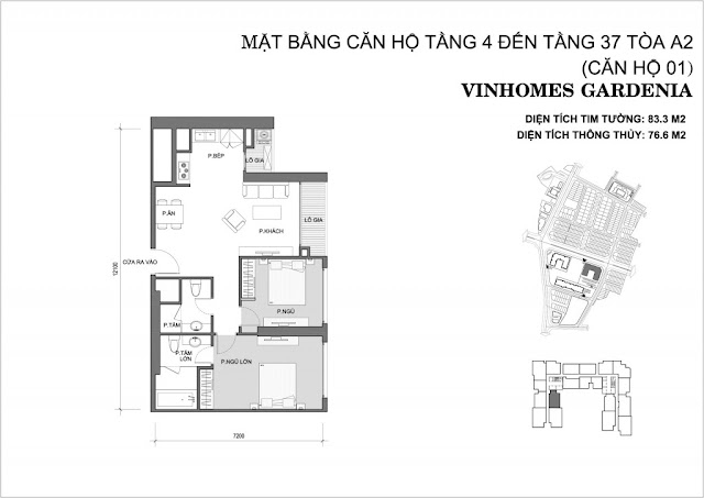 01 - Tòa A2 Vinhomes Gardenia