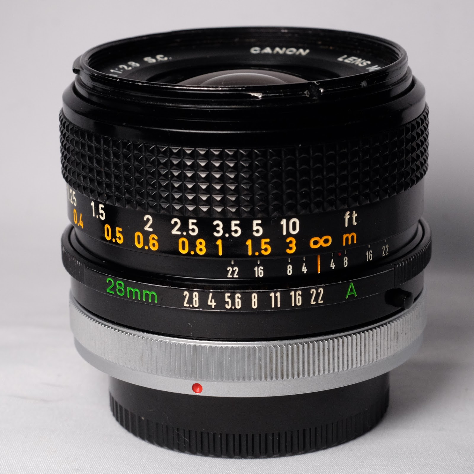Canon FD 28mm f/2 8 S C  (1975) | Lens Shatter By Rattus