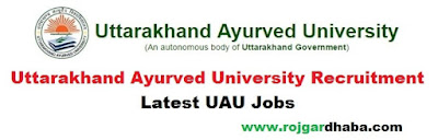 uau-uttarakhand-ayurved-university-jobs