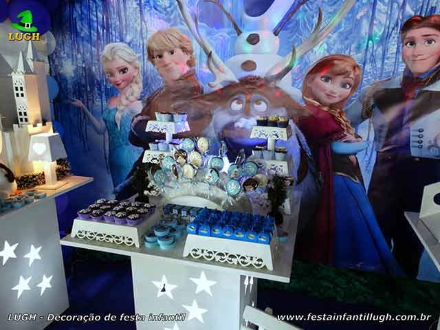 Decoração de aniversário Frozen- festa infantil