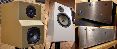 Amplifier Anda Audio dan Speaker D'Audio