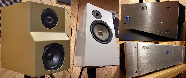 Amplifier Anda Audio dan Speaker D'Audio