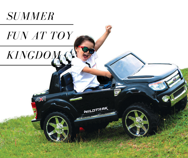 Summer Fun at Toy Kingdom