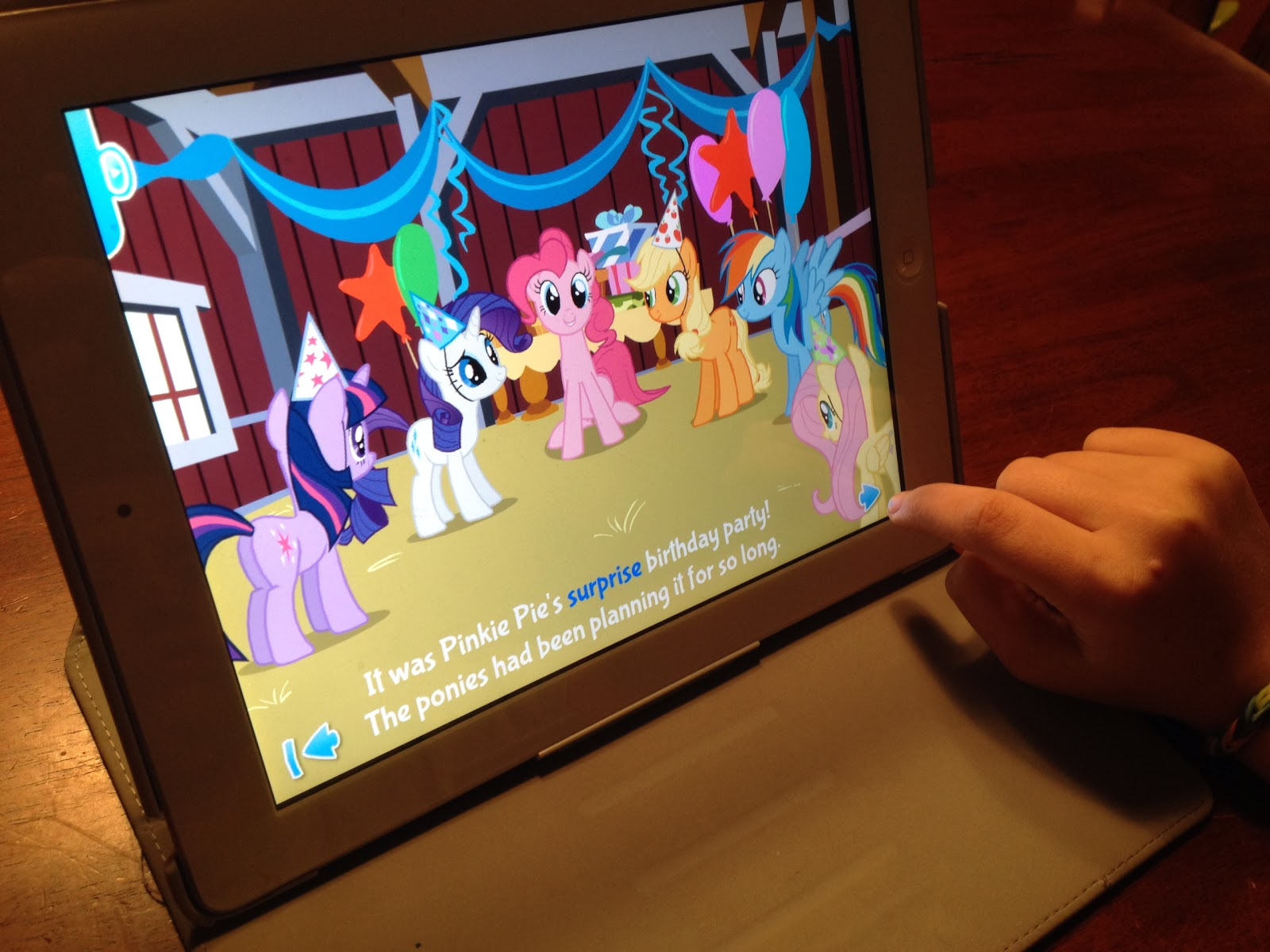 My Java with Jesus: Review: My Little Pony Reading App