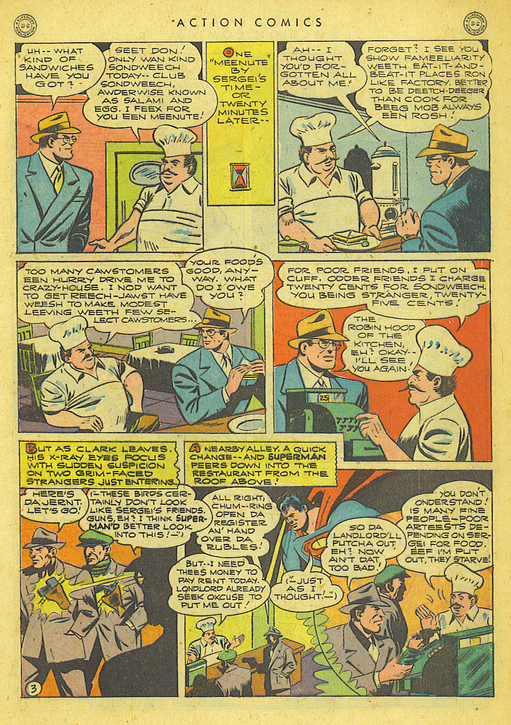 Read online Action Comics (1938) comic -  Issue #78 - 4