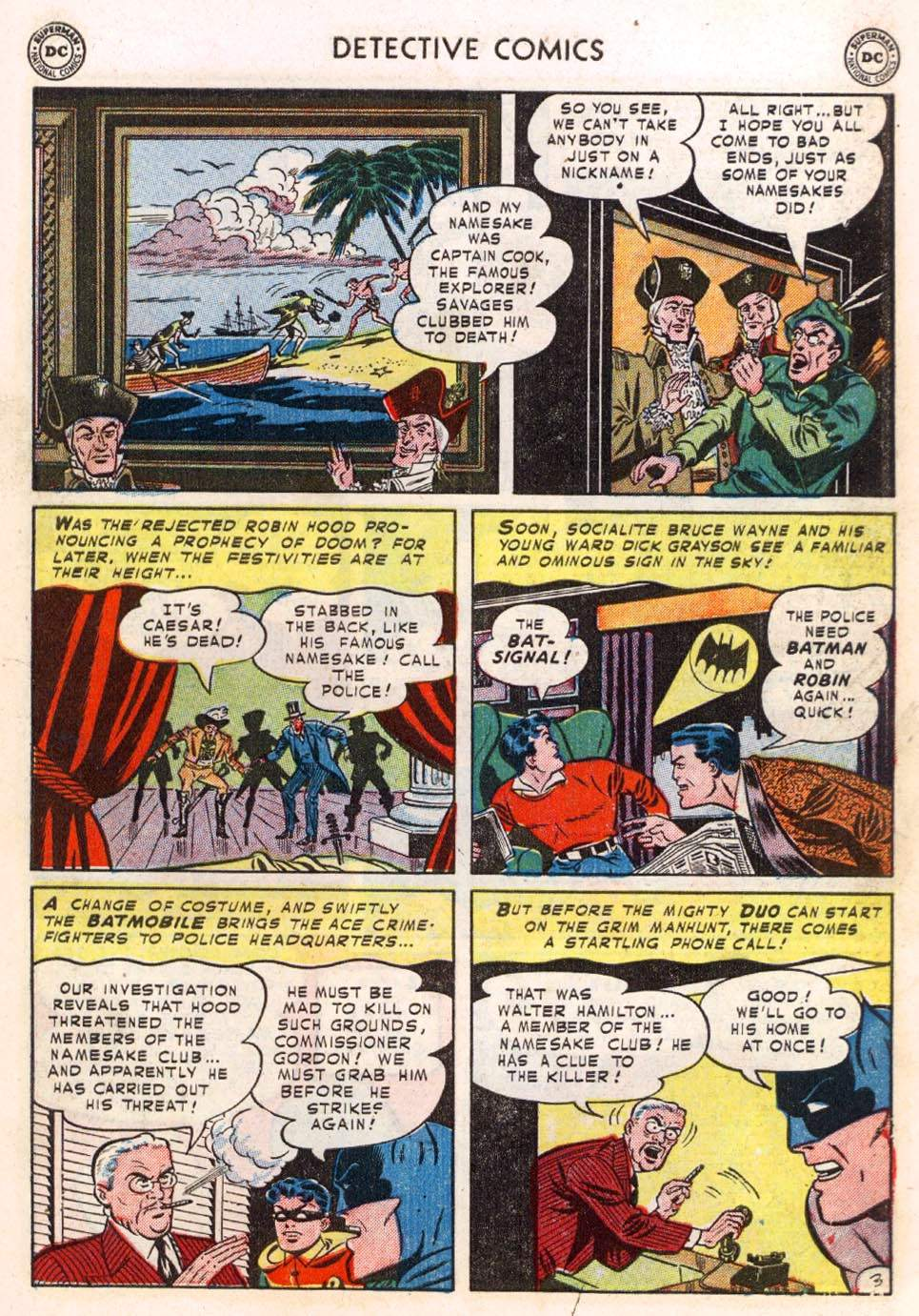 Read online Detective Comics (1937) comic -  Issue #183 - 5