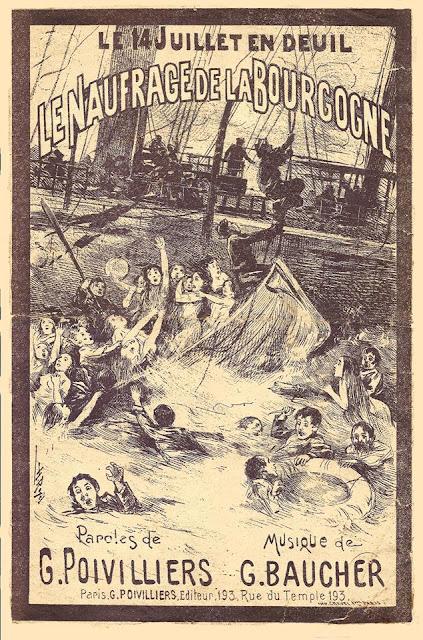 La Bourgogne drama about the sinking