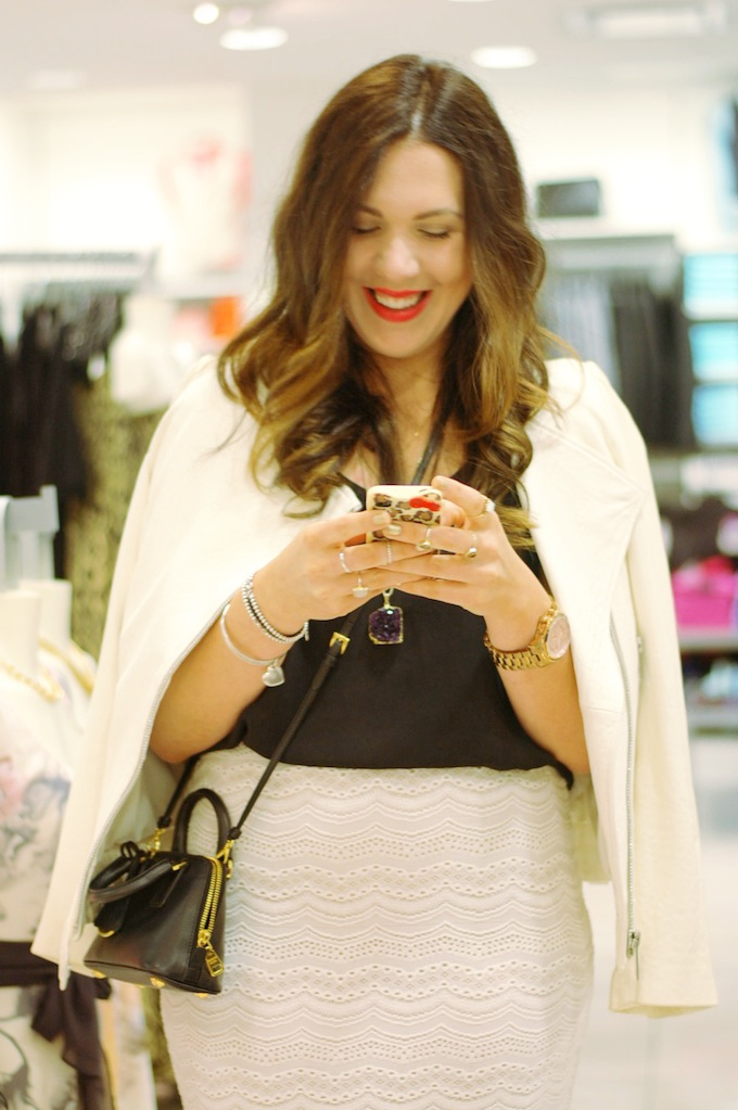 Le Château Meet the Blogger event in Vancouver with Aleesha Harris of Covet and Acquire