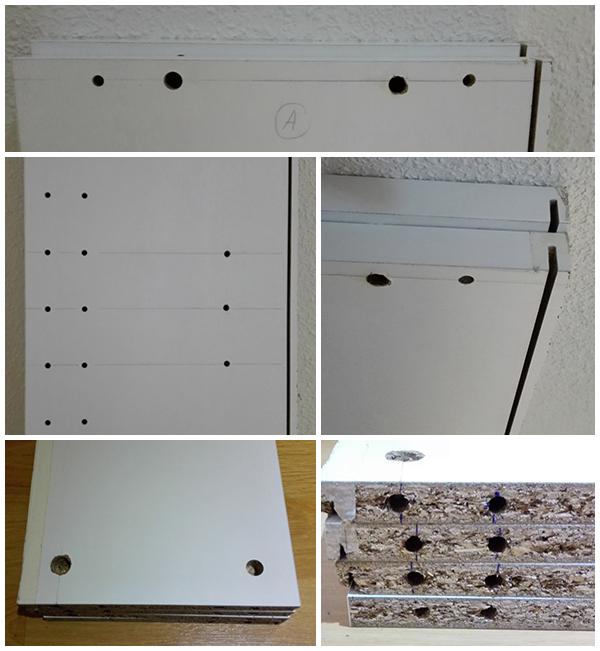 La neurona del manitas zapatero con un mueble de cocina for Medidas de zapateras