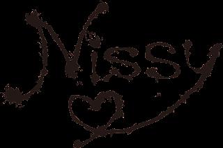 Nissy(西島隆弘)ロゴ ブラック