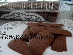 kue lidah kucing coklat choco chip