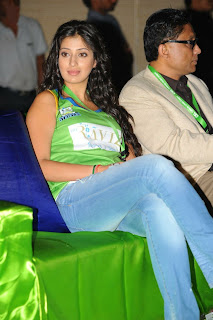 Actress Lakshmi Rai at CCL Dress Launch Images