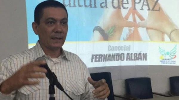 Albán era un concejal relacionado con la obra de acción social católica Cáritas / WEB