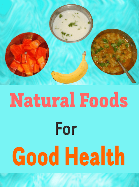 best natural food for health