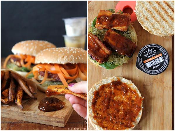 Veggie Burger Asia-Style - Mit Butcher's Burger! | Werbung