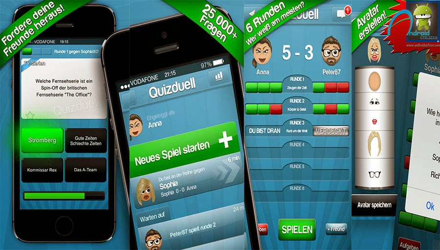 Quizduell PREMIUM Screenshot