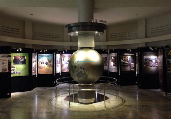 Salah satu sudut dalam Museum Konferensi Asia Afrika di Bandung