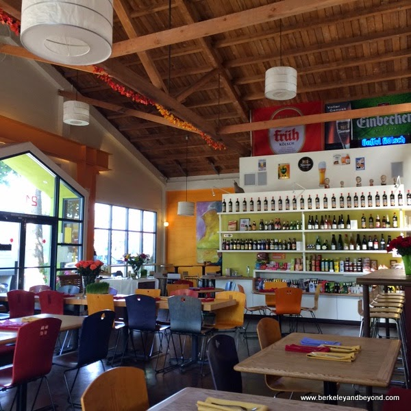 interior of Gaumenkitzel in Berkeley, California