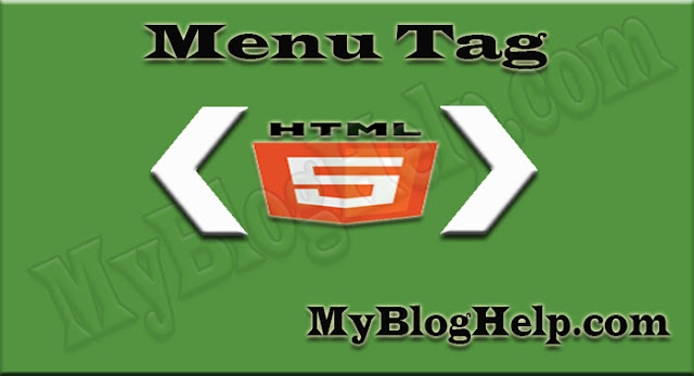 MENU-TAG-IN-HTML