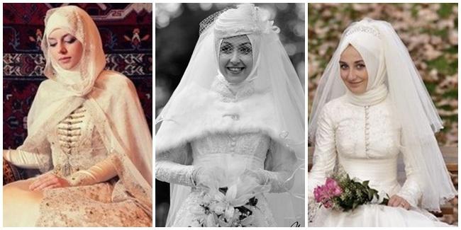 Gaun Pengantin Muslim Modern Ferrina Jaya Fashion