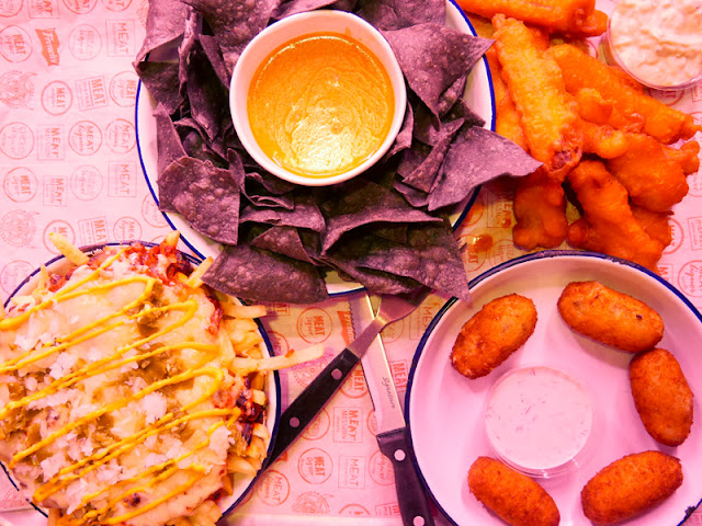vegetarian food at MEATLiquor, Brighton