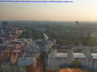 Vistas desde el London Eye