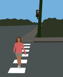 Puntos negros de atropellos de peatones
