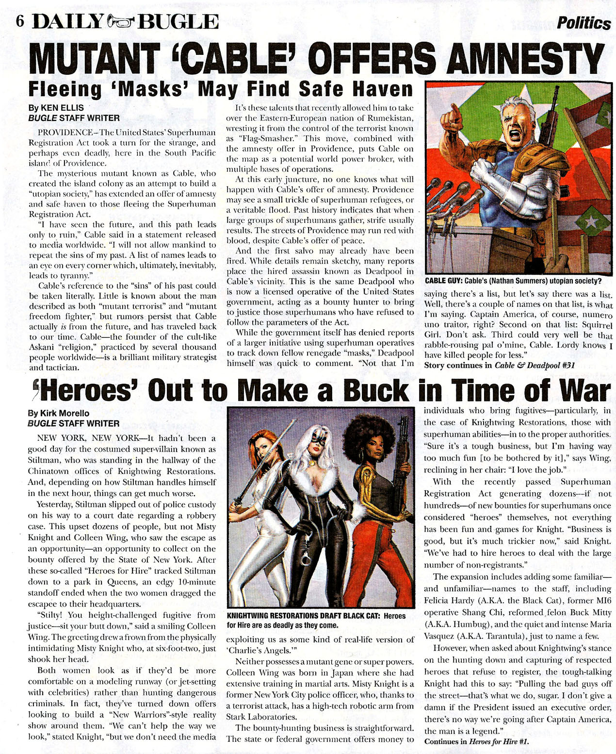 Read online Daily Bugle (2006) comic -  Issue #0 - 6