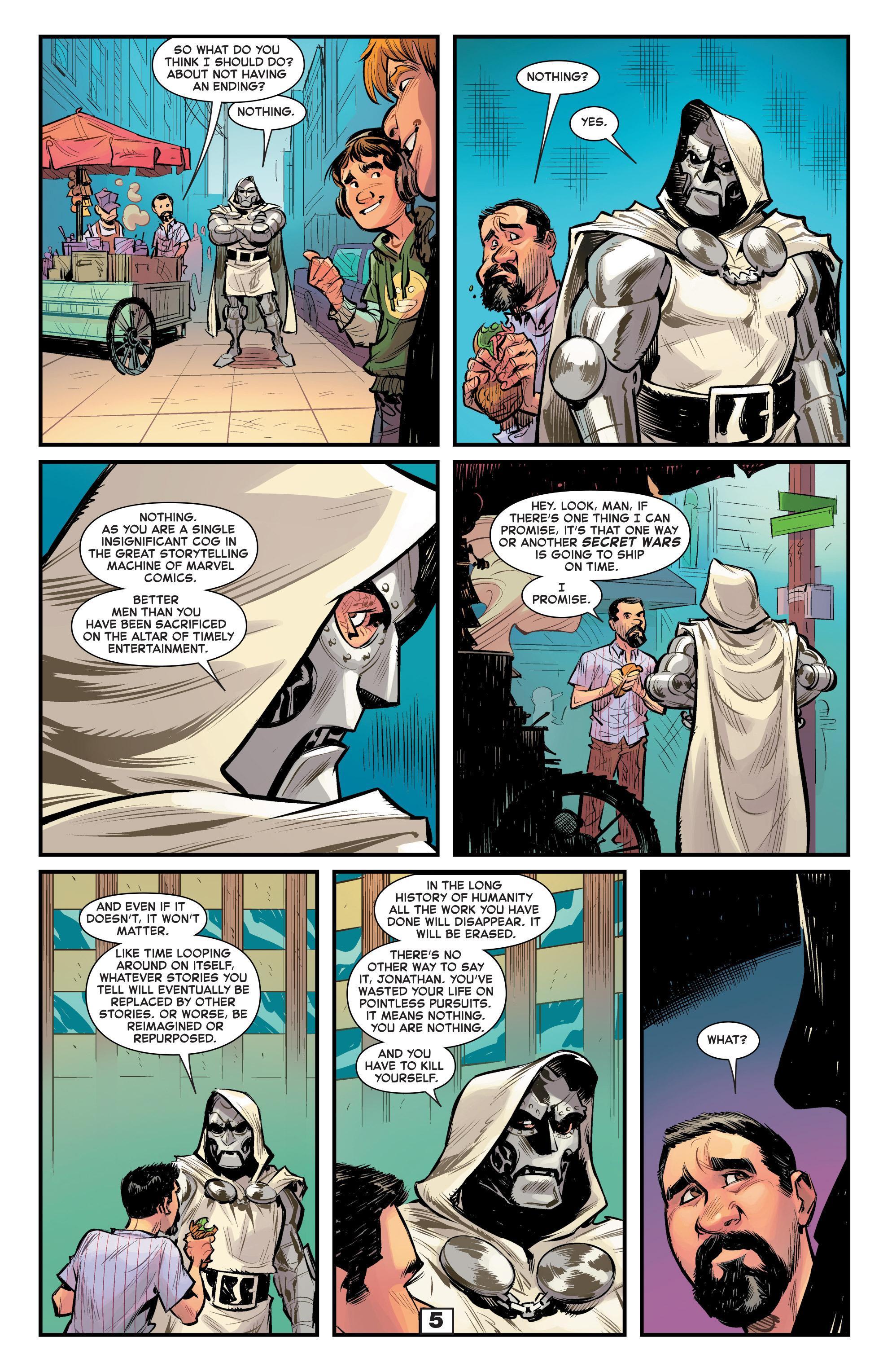 Read online Secret Wars Too comic -  Issue # Full - 7