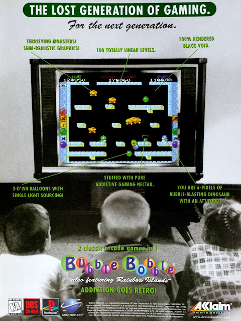 Bubble Bobble Rainbow Islands literature