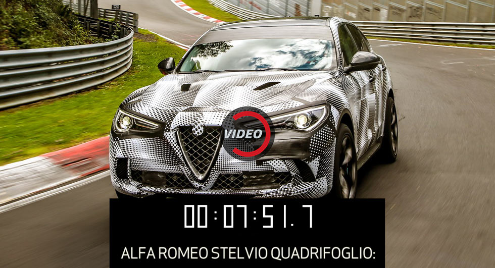 Alfa Romeo Stelvio SUV is a record-breaker