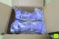 auspacken: Songmics 2er Set Kurzhanteln Gymnastik Hantel verschiedene Gewichte und Farben auswählbar