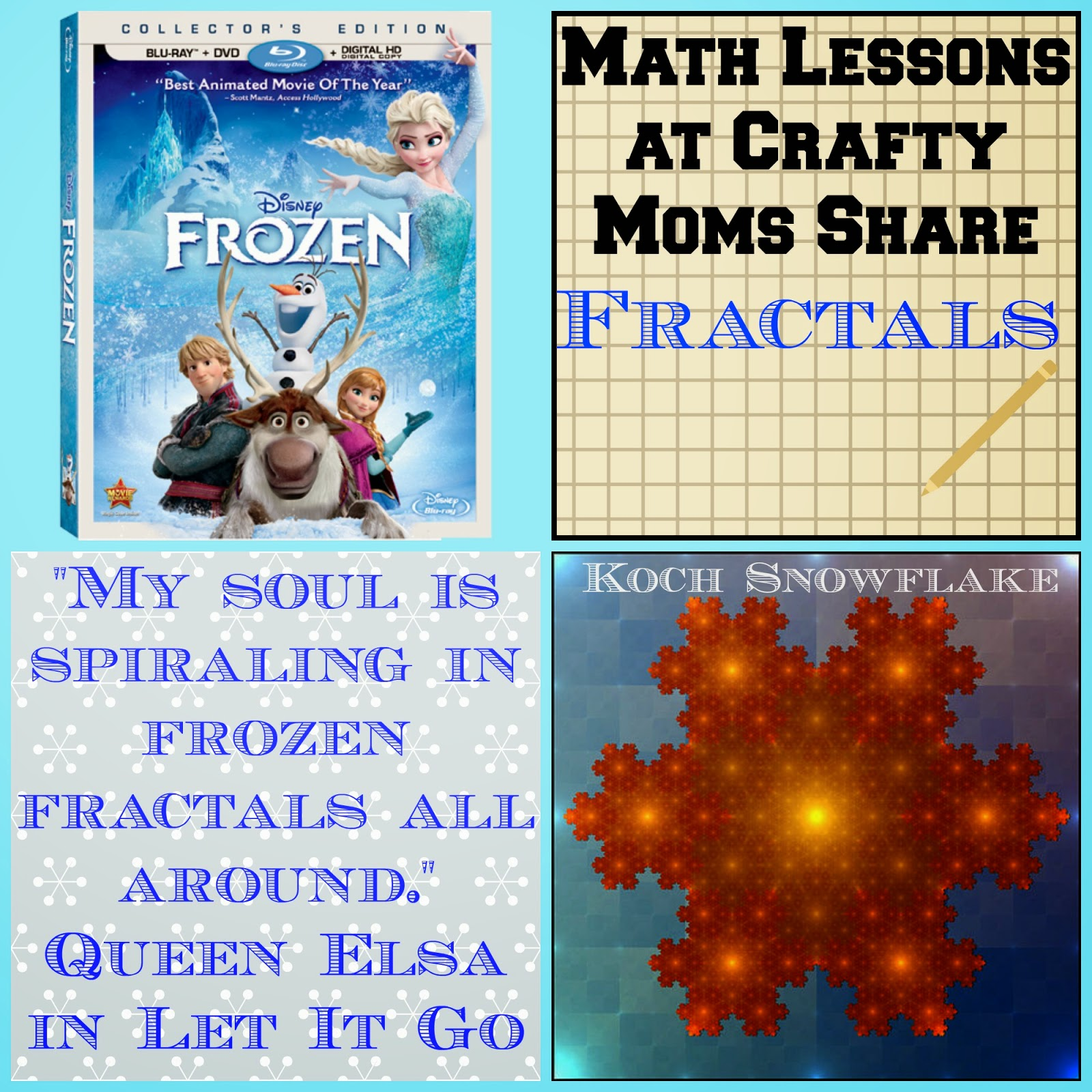 Crafty Moms Share What Are Frozen Fractals A Lesson On