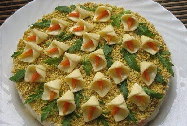 Вкуснейшие рецепты салаты блюда с фото