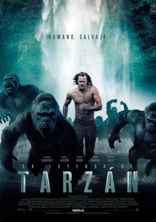 Cartel La leyenda de Tarzán