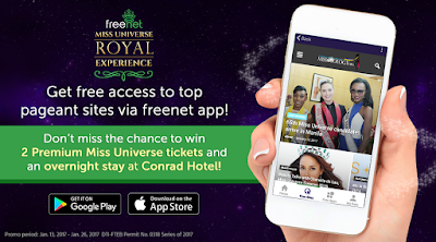 Freenet Miss Universe Royal Experience