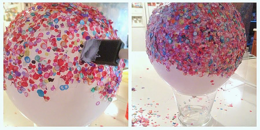 la reines blog schale aus konfetti selber machen. Black Bedroom Furniture Sets. Home Design Ideas
