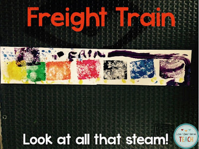 preschool, freight train, donald crews, preschool stories, preschool crafts