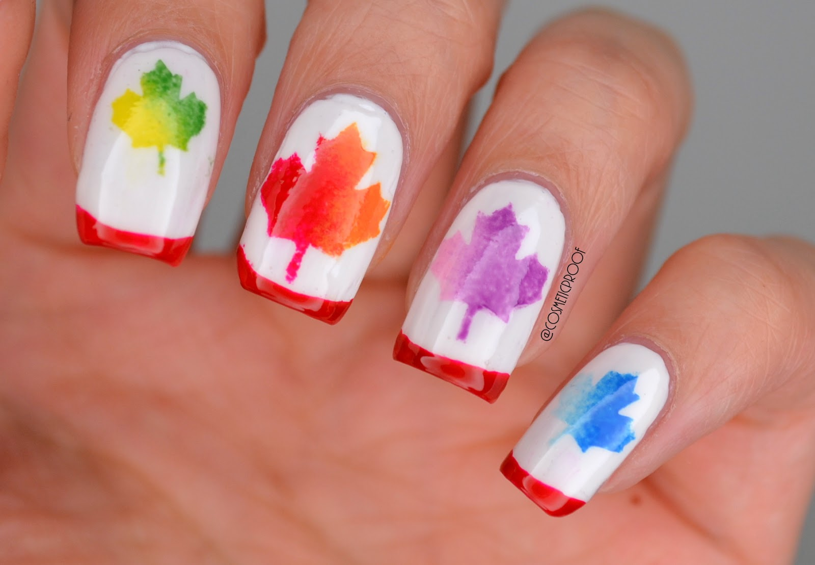 NAILS | Celebrate #Canada150 with Whats Up Nails! (Free ...