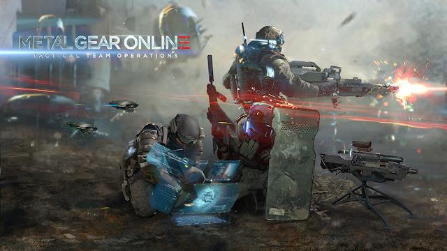 """""""Metal Gear Online"""" Game bắn súng đa nền tảng 2008"""