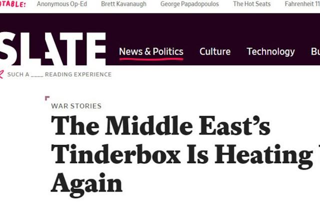 Η πυριτιδαποθήκη της Μέσης Ανατολής είναι πάλι έτοιμη να εκραγεί