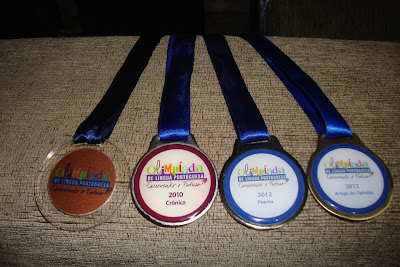 Medalhas da Olimpíada de Língua Portuguesa