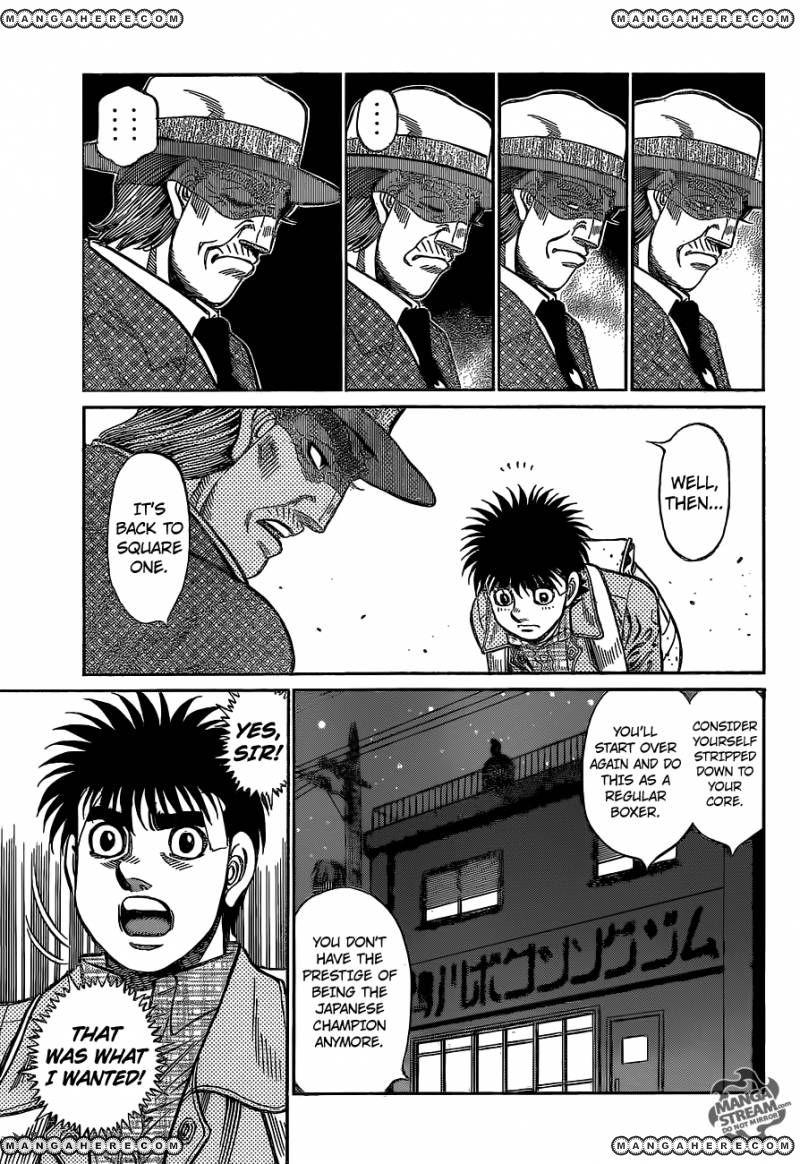 Hajime no Ippo - Chapter 1077