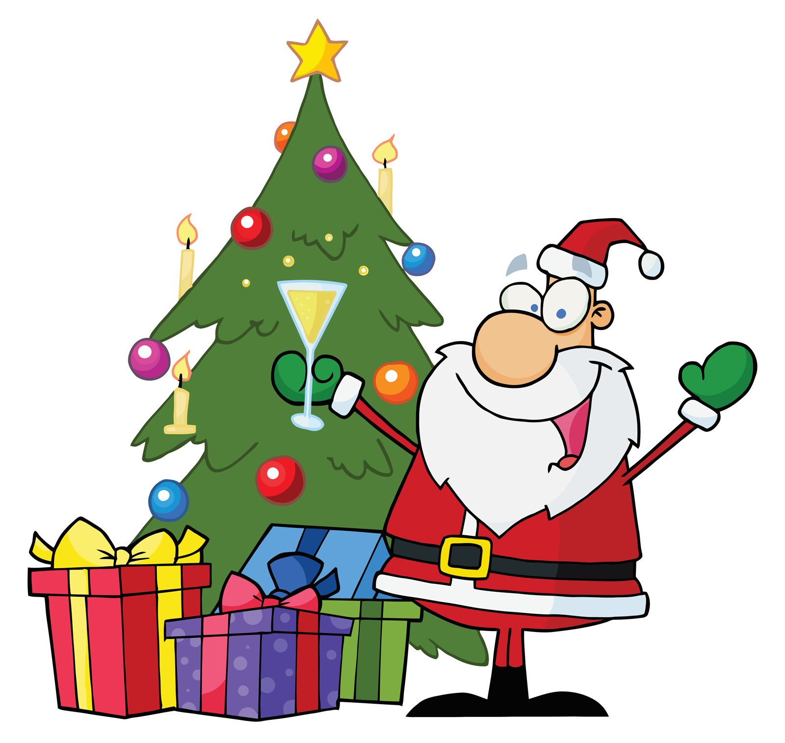 Christmas Tree Clip Art.11 Funny Happy New Year Gif 2014