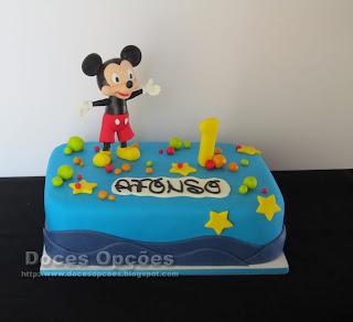 Bolo de aniversário Disney Mickey Mouse