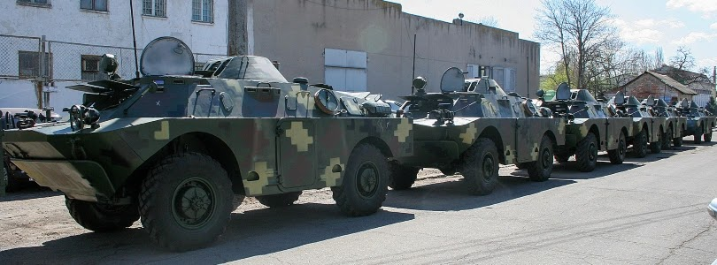 UOP handed over eight BRDM-2L1s to the Ukrainian Army