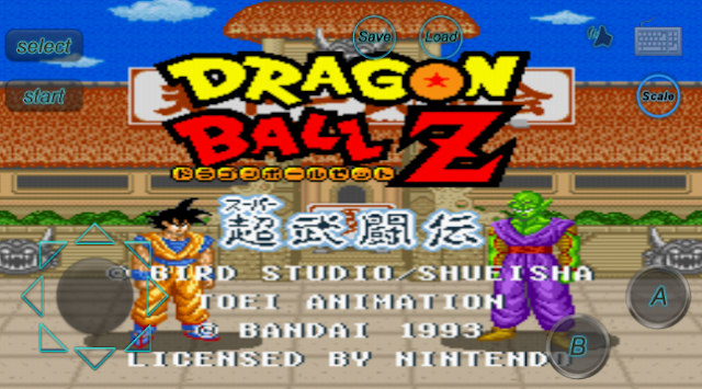 dragonball z super butouden in android apk -AndroidGamesOcean free download
