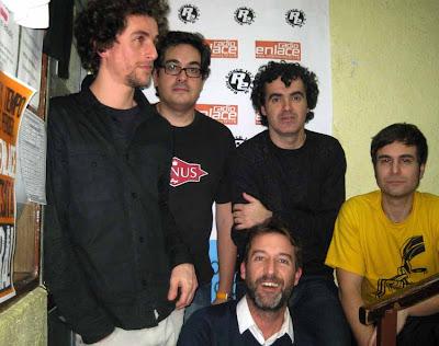Con Óscar, Luis y Manu de Fira en La Isla de Encanta