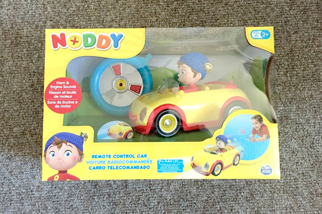 Noddy remote control car toy